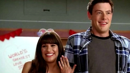 finn and rachel dating in real life 2012